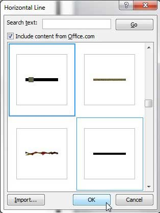 how to get rid of unwanted lines in word document