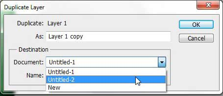 duplicate a Photoshop layer