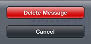 How To Delete Specific Texts Ios7